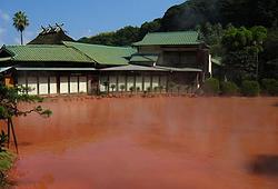 Aguas termales de sangre en Japón