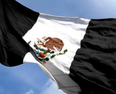 bandera en luto