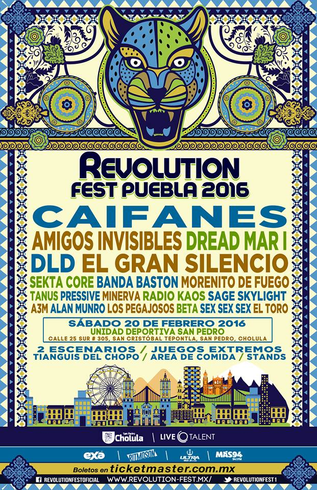 Revolution Fest Cartel 20 de Feb 2016