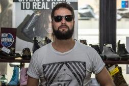 Fernando Peyrat (Batería) en Dr. Martens CDMX